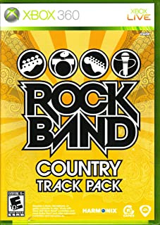Rock Band Track Pack Country Xbox 360 COMPLETE