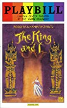 Pride Playbill - June 2015 - The King and I - Kelli O'hara and Ken Watanabe