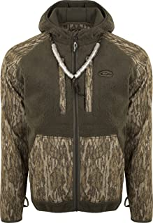 Drake MST Sherpa Fleece Hybrid Liner Full Zip with Hood