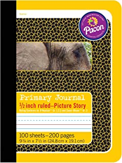 Pacon PAC2426BN Primary Composition Book, 1/2