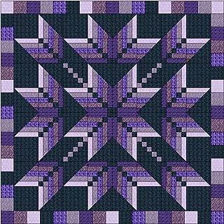 Quilt Kit Exploding Star Autumn//King