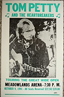 Tom Petty and the Heartbreakers Meadowlands Arena 1991 Concert