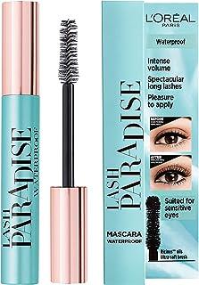 L'Oréal Paris Lash Paradise Mascara Waterproof - L'Oréal mascara voor intens volume, verrijkt met castorolie en rozenolie...