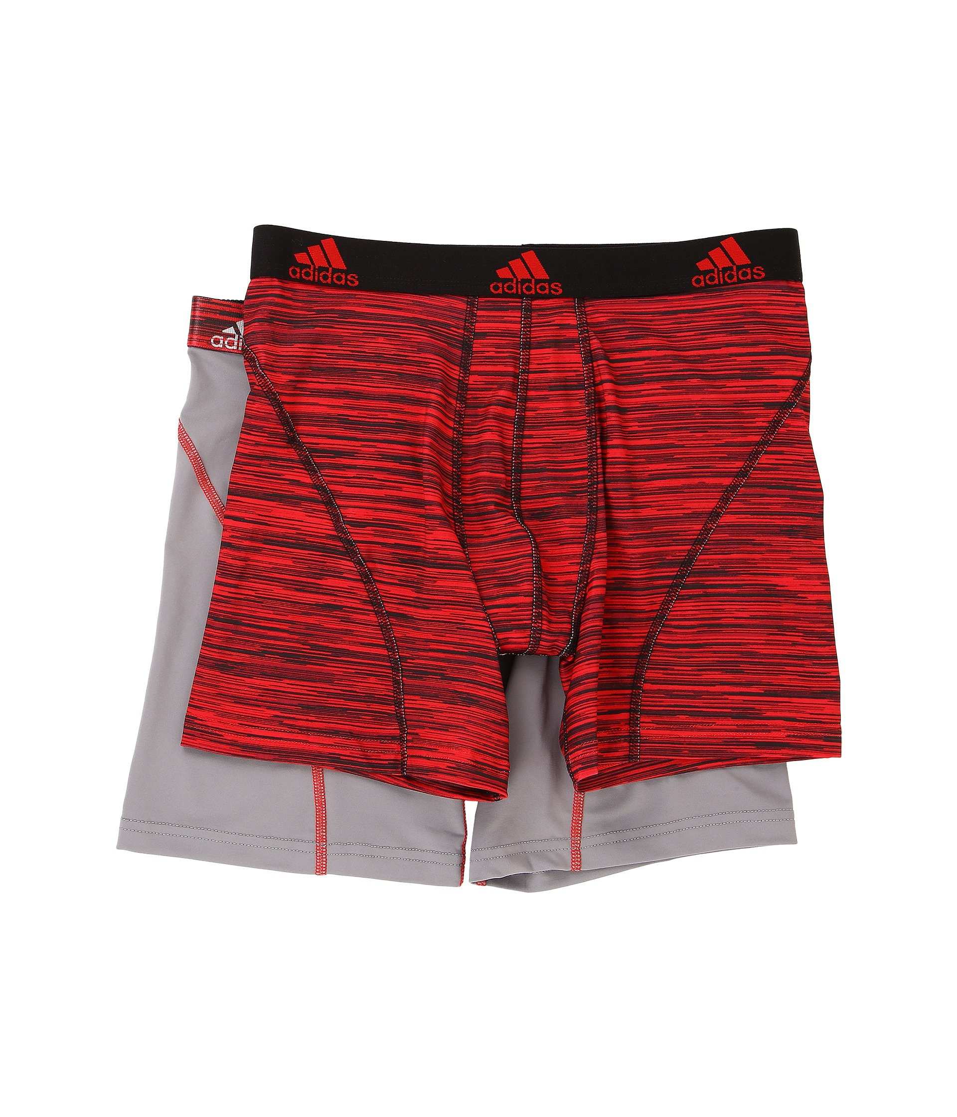 Adidas Originals Sport Performance Climalite Graphic 2 Pack Boxer