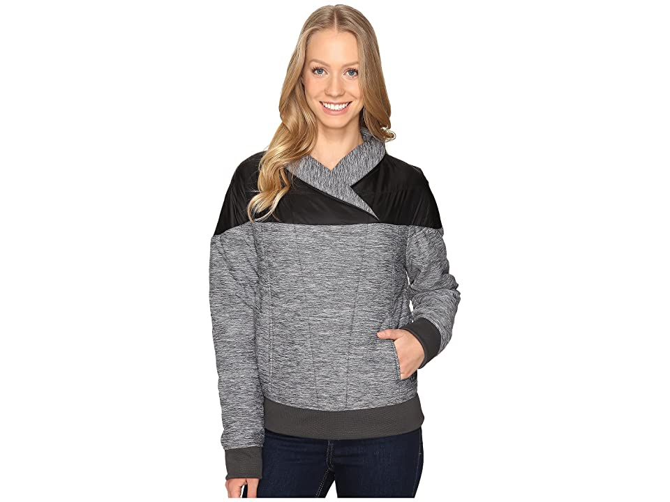 The North Face Pseudio Pullover Puffy Jacket (TNF Dark Grey Heather/TNF Black (Prior Season)) Women