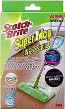 Scotch-Brite F1 Super Microfiber Mop Refill, Green