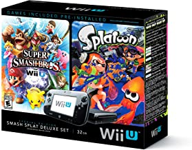 Wii U Super Smash Bros and Splatoon Bundle - Special Edition Deluxe Set