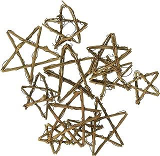 Darice Grapevine Miniatures-Assorted Stars 12/Pkg