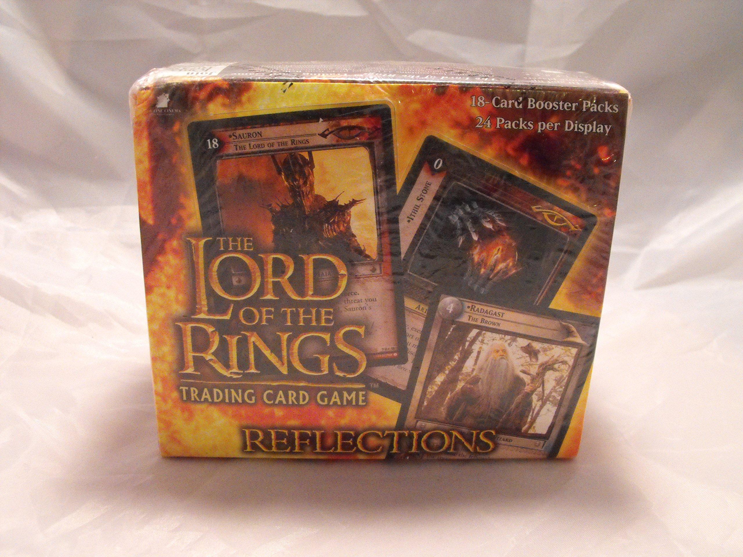 De el Señor de los anillos juego de cartas caja de amplificador de reflejos: Amazon.es: Juguetes y juegos