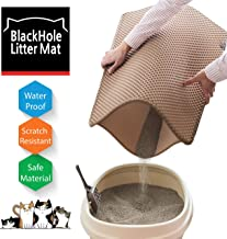 BlackHole Litter Mat Blackhole Cat Litter Mat - Large Size Rectangular 30
