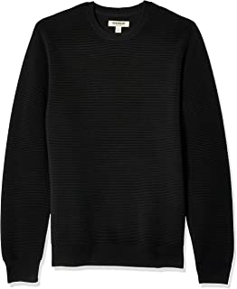 Goodthreads Men's Soft Cotton Ottoman Stitch Crewneck Sweater