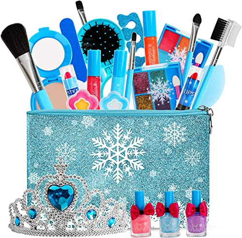 high quality Kids wholesale Makeup Kit for Girl, Pretend Make Up for Girls, Child Make Up, Real Washable Cosmetic Toy Birthday Gift for 3 4 5 high quality 6 7 8 Year Old Girl online sale