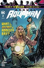 AQUAMAN ANNUAL #2 COVER A comic book