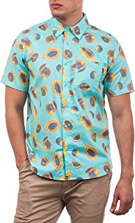 Hurley Men's M Harvest Stretch SS Shirt