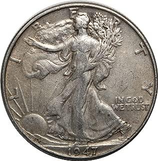 1947 P Walking Liberty Half Dollar 50c Very Fine