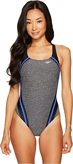 Speedo - Textured Quantum Splice One-Piece