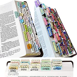 Mr. Pen- Bible Tabs, 3 Different Design, 222 Tabs, Bible Journaling Supplies, Bible Tabs Old and New Testament, Bible Tabs...