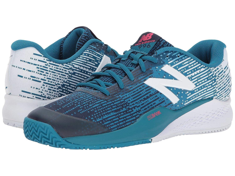 (ニューバランス) New Balance メンズテニスシューズ?スニーカー?靴 MCY996v3 Lake Blue/Pigment 10 (28cm) EE - Wide