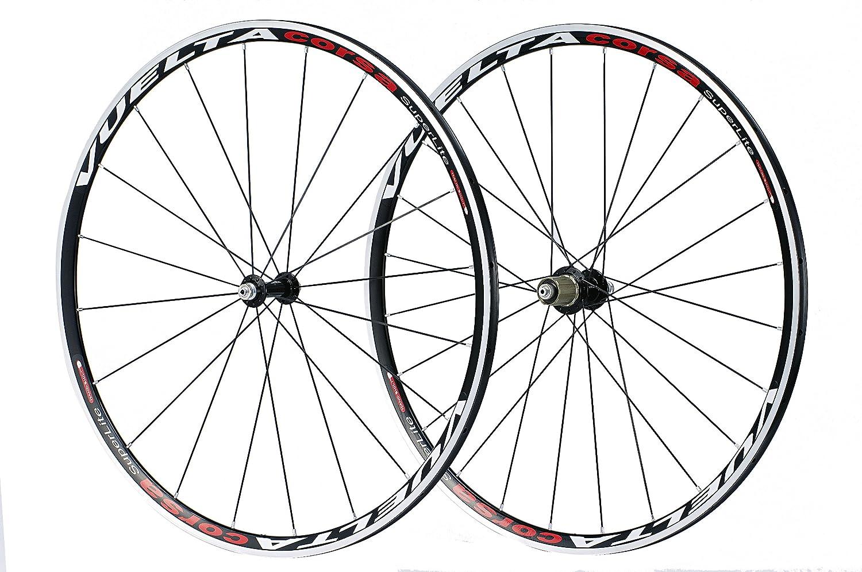 Vuelta Corsa SuperLite 700C Tubular Wheel Set (Black)