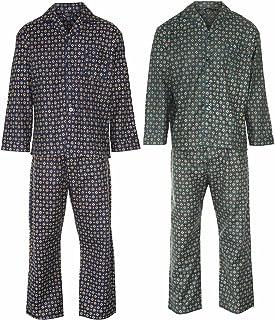 Champion Mens Diamond Wyncette Cotton Pyjama (Pack of 2)