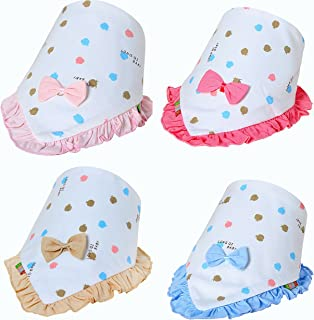 Cute Baby Bandana Drool Bibs for Girls.Personalized Scarf Bib Feeding & Teething. Fancy Baby Bibs and Burp Cloth are Water...
