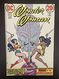 Wonder Woman #206 Mark Jewelers Variant 1973 DC Comic Book. First Cover Appearance of Wonder Woman's Sister Nubia