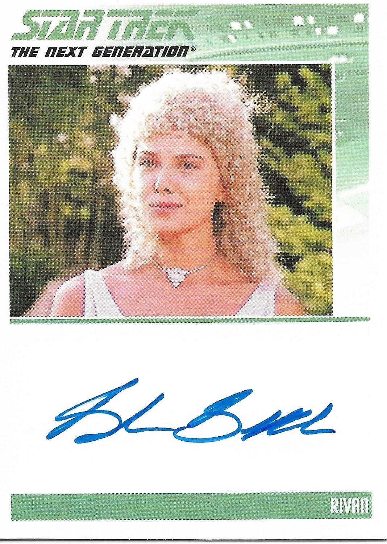 Star Trek the Next Generation Ranking TOP17 Brenda Rivan Autograph as Genuine Bakke Tr
