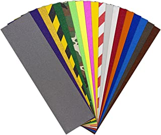 Colors Skateboard Griptape Sheets All Colors Assorted Pack
