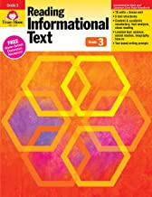 Evan-Moor Reading Informational Text: Common Core Mastery Book, Grade 3