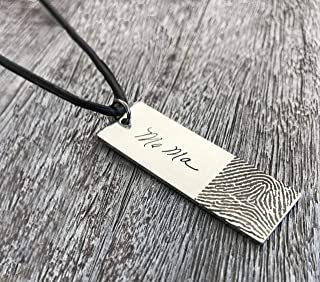 PersonalizedJewelryGifts Nebraska State Necklace for Women and Girls Silver Charm Pendant Jewelry US States Necklace