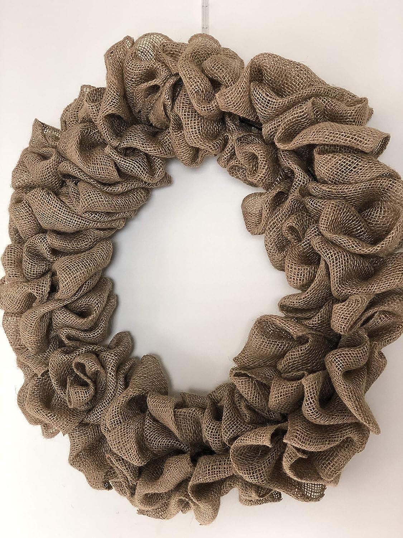 Burlap Wreath Plain Outlet ☆ Free Shipping DIY Base Discount mail order Form Farm