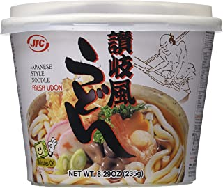 JFC Fresh Udon Bowl, 8.29-Ounce Containers (Pack of 12)