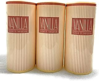 Avon Vanilla Soft Musk Tantalizing Body Talc powder sealed LOT OF 3