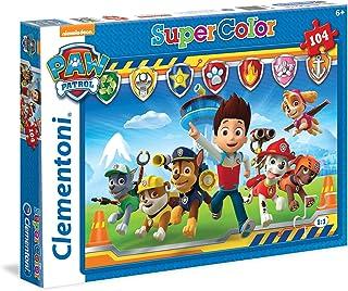 Clementoni- Paw Patrol Pat'Patrouille-104 pièces-Puzzle Enfant-fabriqué en Italie, 6 Ans et Plus, 27945, 104 Pezzi