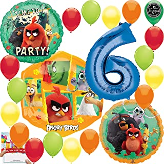 Angry Birds Ultimate Stickers Party Favors Pack 6 Angry Birds Sticker Albums and 12 Sticker Packs Party Supplies Set