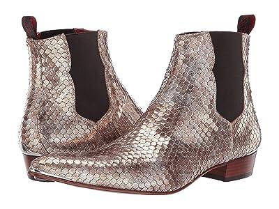 Jeffery-West Adament Chelsea Boot (White/Gold) Men