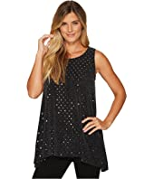 Nally & Millie - Silver and Black Tunic