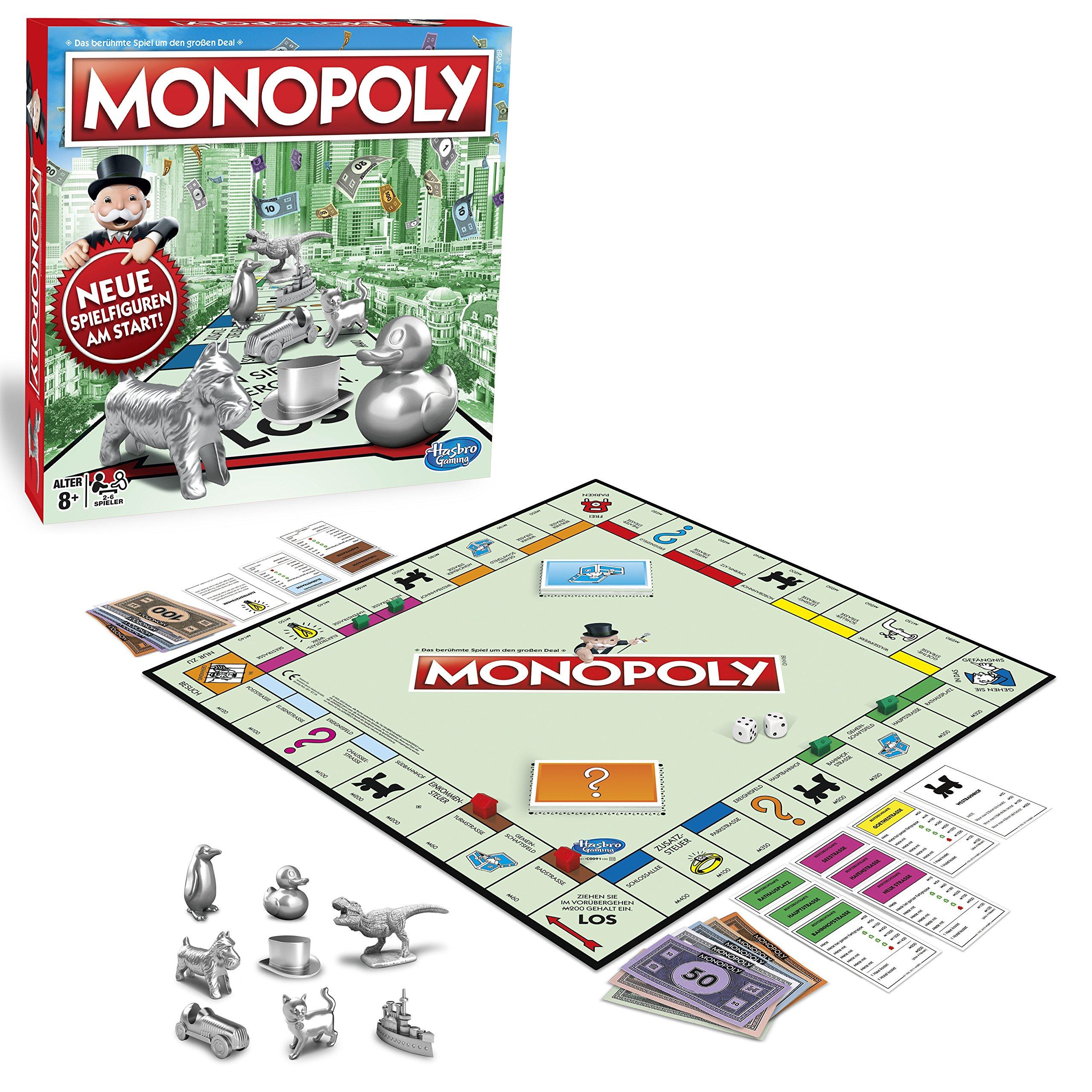 Hasbro Disney - Monopoly (versión Alemana): Amazon.es: Juguetes y ...