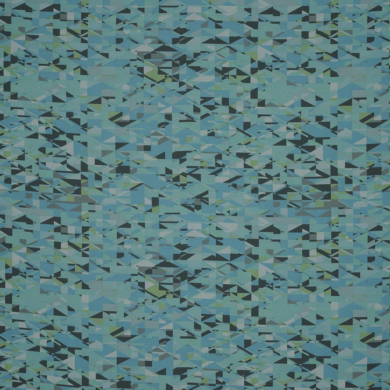 Fabtrends Hi Multi Chiffon Small Geometric Jade