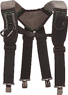 McGuire-Nicholas 30289 - Tirantes de espuma de gel con rodamiento de carga para apoyo adicional de espalda, color negro