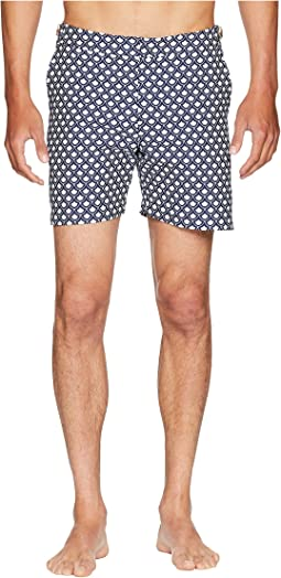 Bulldog Jacquard Swim Shorts