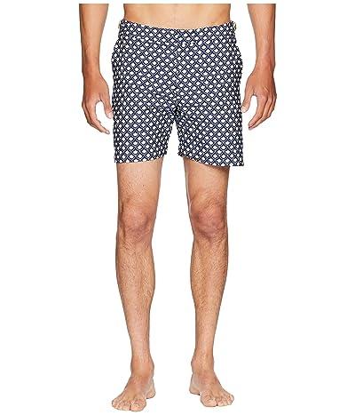 Orlebar Brown Bulldog Jacquard Swim Shorts (Fish Scale) Men