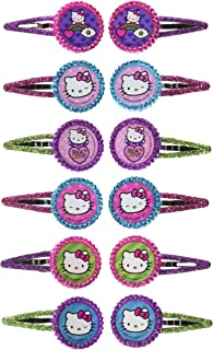 09f5265ef Glitter Hair Clip Favors | Hello Kitty Rainbow Collection | Party Accessory