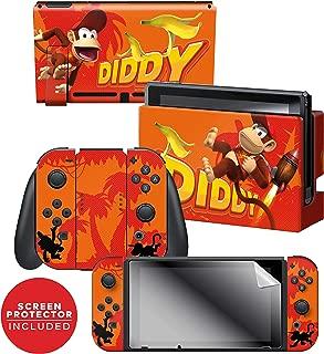 Controller Gear Nintendo Switch Skin & Screen Protector Set - Donkey Kong -