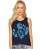 Lucky Brand - Beaded Floral Tank Top