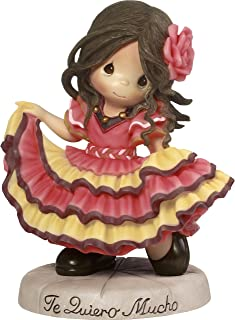 Precious Moments Te Quiero Mucho Spanish Dancing Girl Resin Home Decor Collectible Figurine 173441