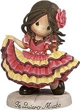Precious Moments Te Quiero Mucho Spanish Dancing Girl Resin Home Decor Collectible Figurine 173441