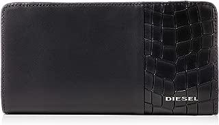(ディーゼル) DIESEL メンズ ウォレット クロコ型押しレザー 長財布 X06495P2392