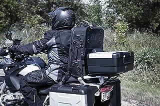 Kuryakyn 5296 XKursion XW Arsenal Weather Resistant Motorcycle Travel Bag: Rolling Carry On Luggage, Black