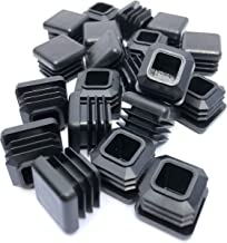 3/4 Inch Square Tubing End Cap 20 PK (14-20 Gauge Wall Tubing) Plastic Plugs/Square End Caps/Plastic End Caps/Square Plug/Square Plastic Plug/by Brew Dog Supplies … (20)